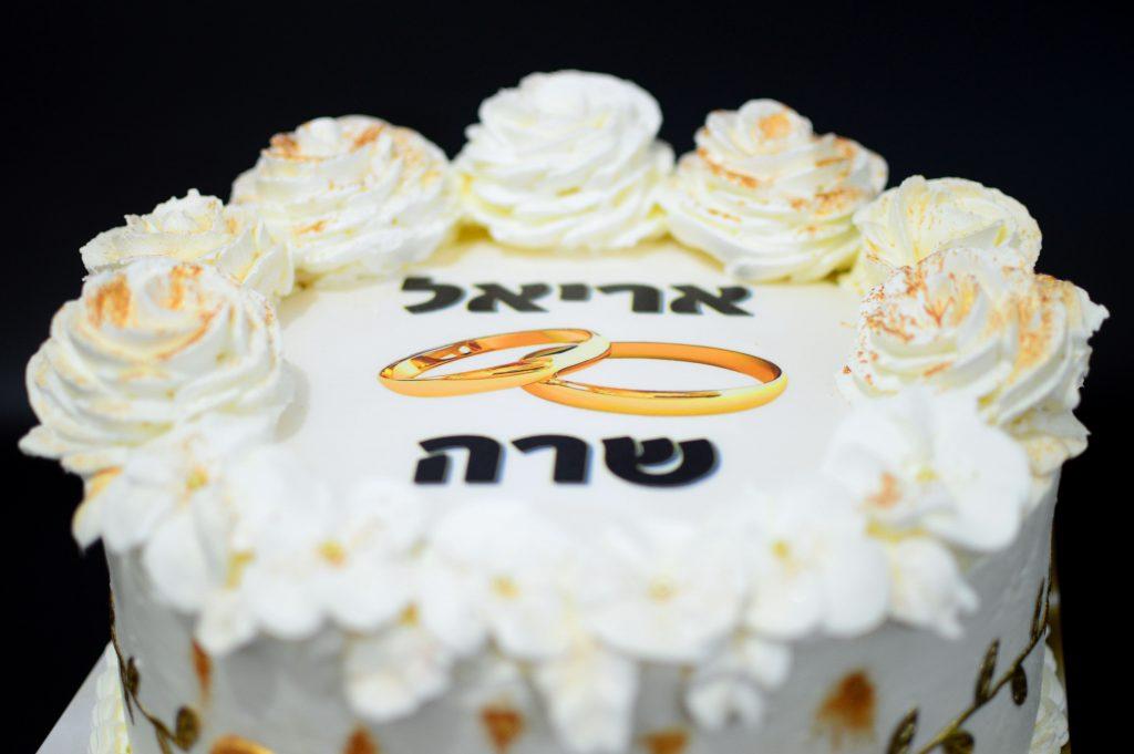 עוגה להצעת נישואים