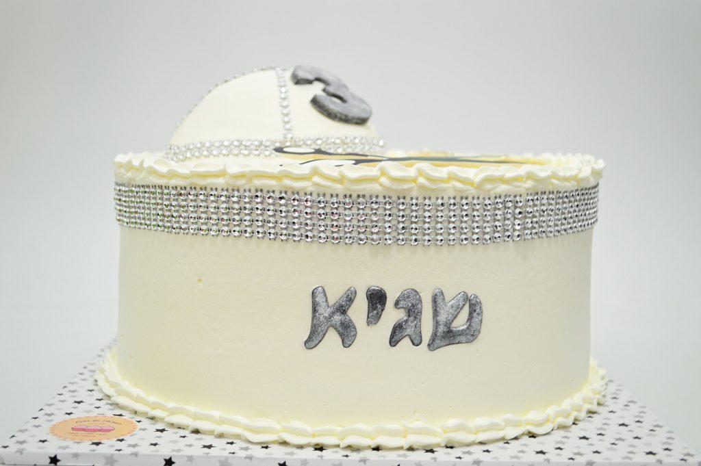 עוגה עם כיפה