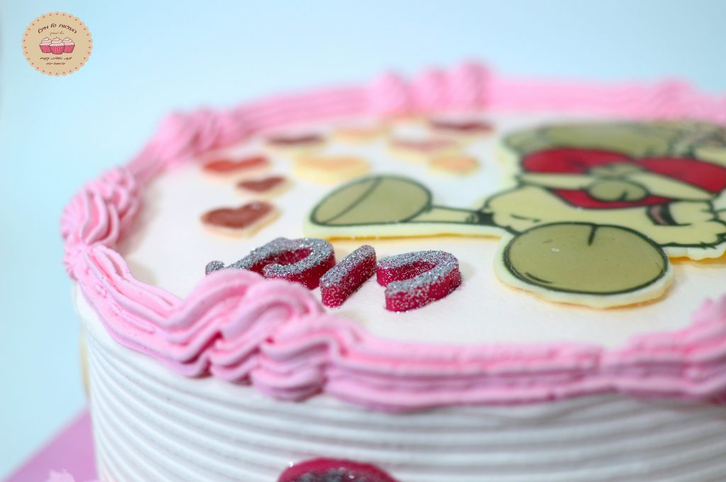 עוגת יום הולדת מעוצבת לילדים