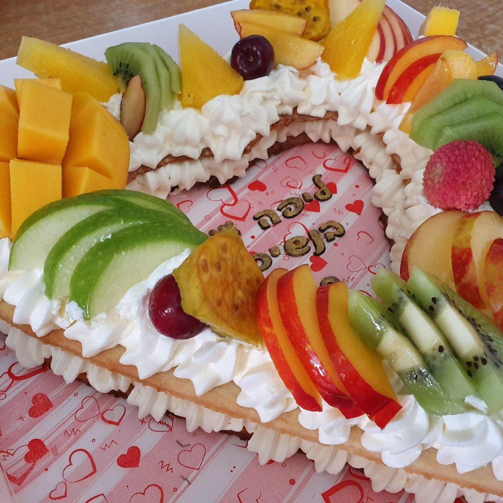 עוגה בצורת לב