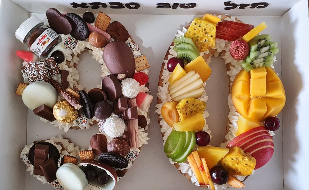 עוגה לגיל 90