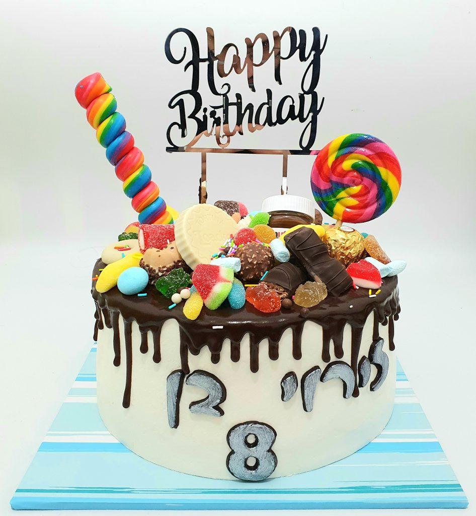 עוגת סוכריות ג'לי